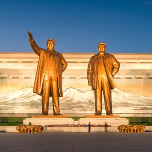 Moran Hill Grand Monument, Pyongyang, DPRK