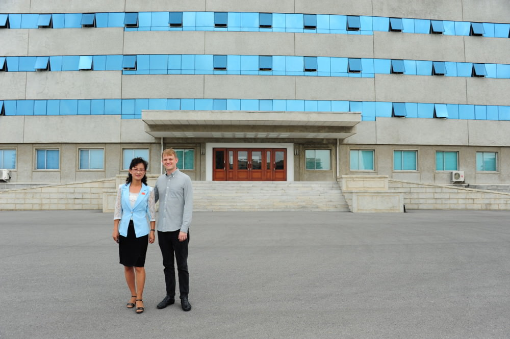 North Korean University Korean Language Teacher