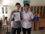 North Korean language program graduation certificate Alek Sigley