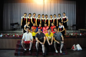 Kang Ban Sok Advanced Middle School performance Pyongyang