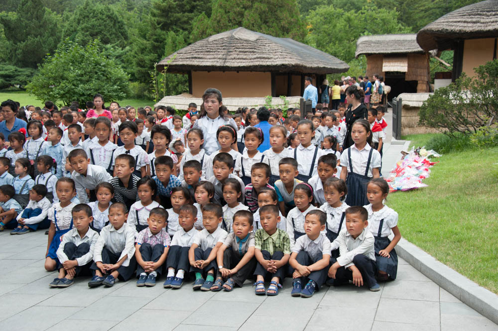 Mangyongdae Native House Pyongyang Kim Il Sung Birthplace