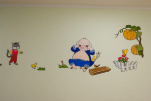 Okryu Children's Hospital wall picture 1