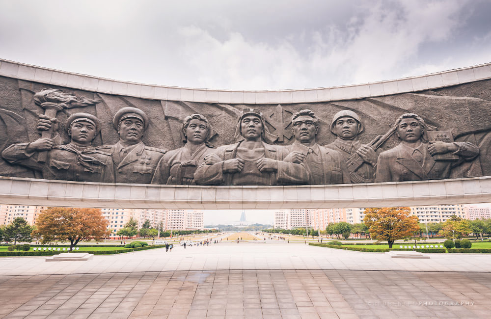 Party Founding Monument Pyongyang