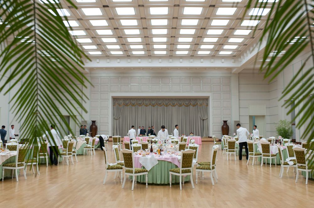 People's Palace of Culture banquet hall