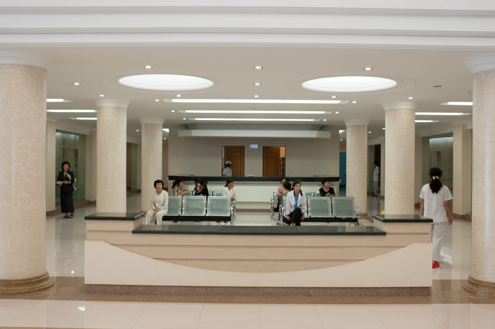 Pyongyang Maternity Hospital 2 breast cancer clinic