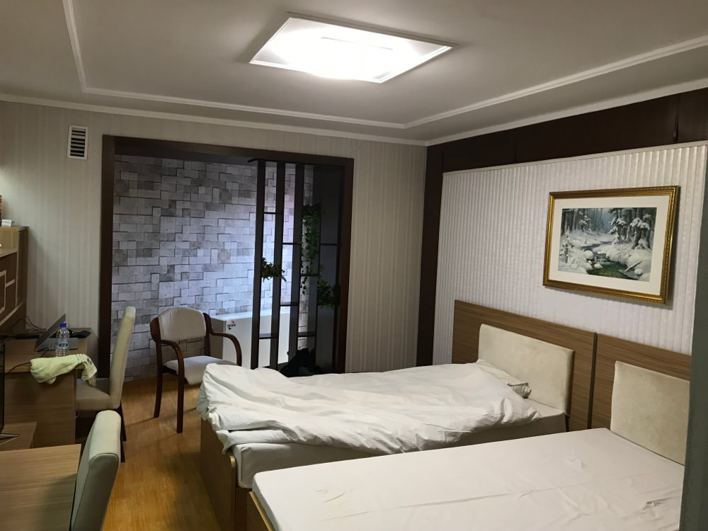 Kim Il Sung University Foreign Student Dormitory Room 1