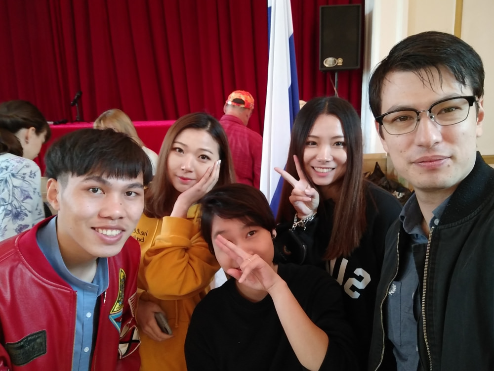 Russian Embassy Pyongyang Kim Il Sung University Foreign Students
