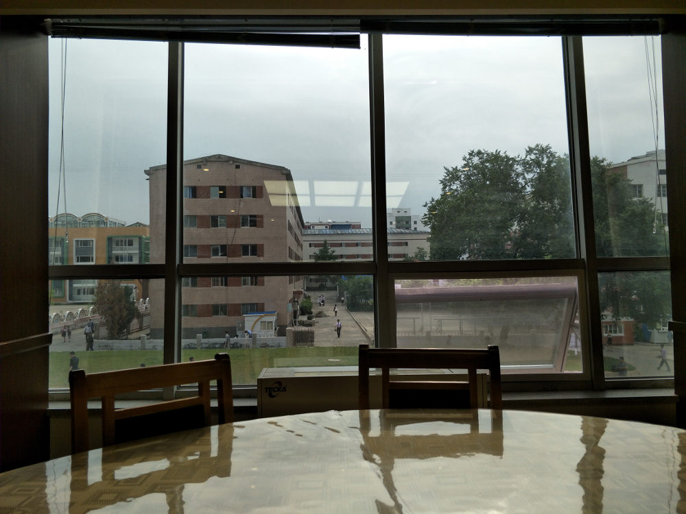 Kim Il Sung University Foreign Student Dormitory Side Restaurant 02
