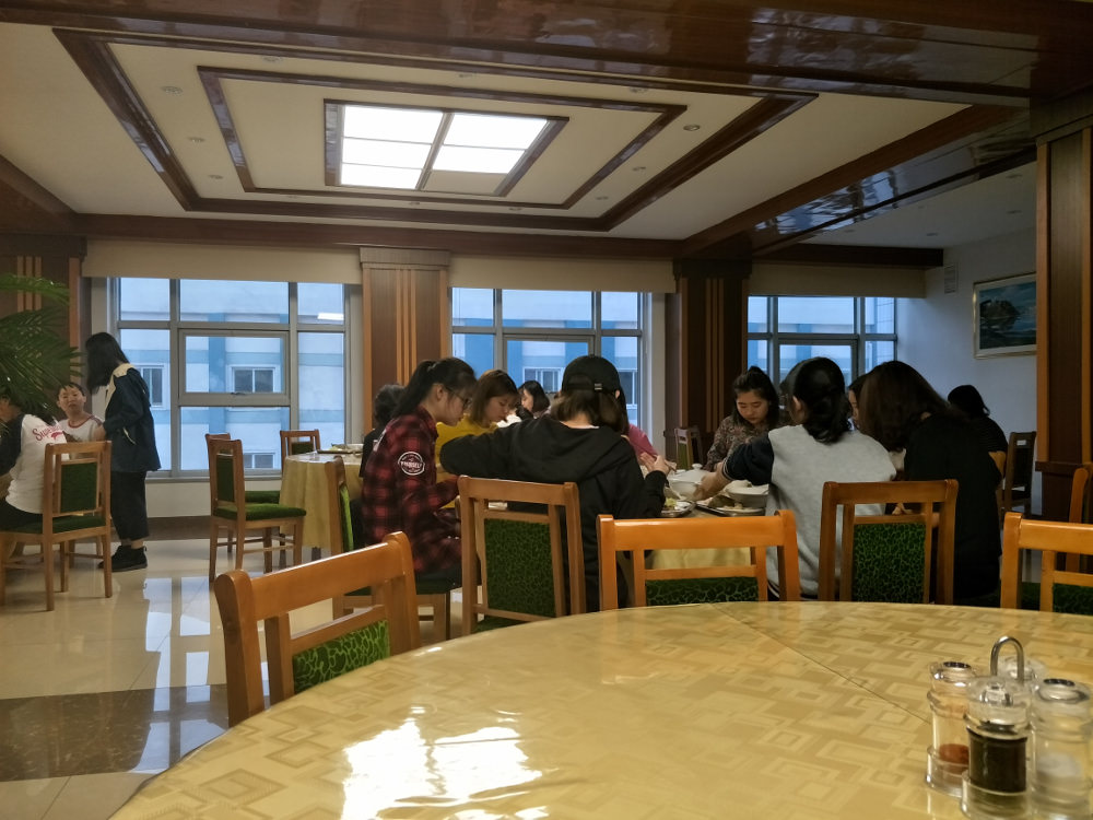 Kim Il Sung University Foreign Student Dormitory Side Restaurant 04