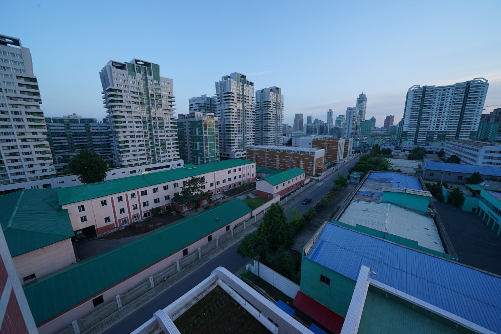 Kim Il Sung University Foreign Student Dormitory View 02