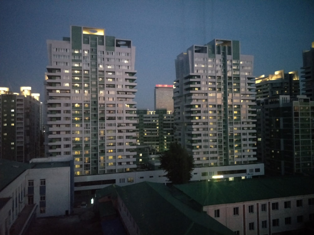 Kim Il Sung University Foreign Student Dormitory View 05