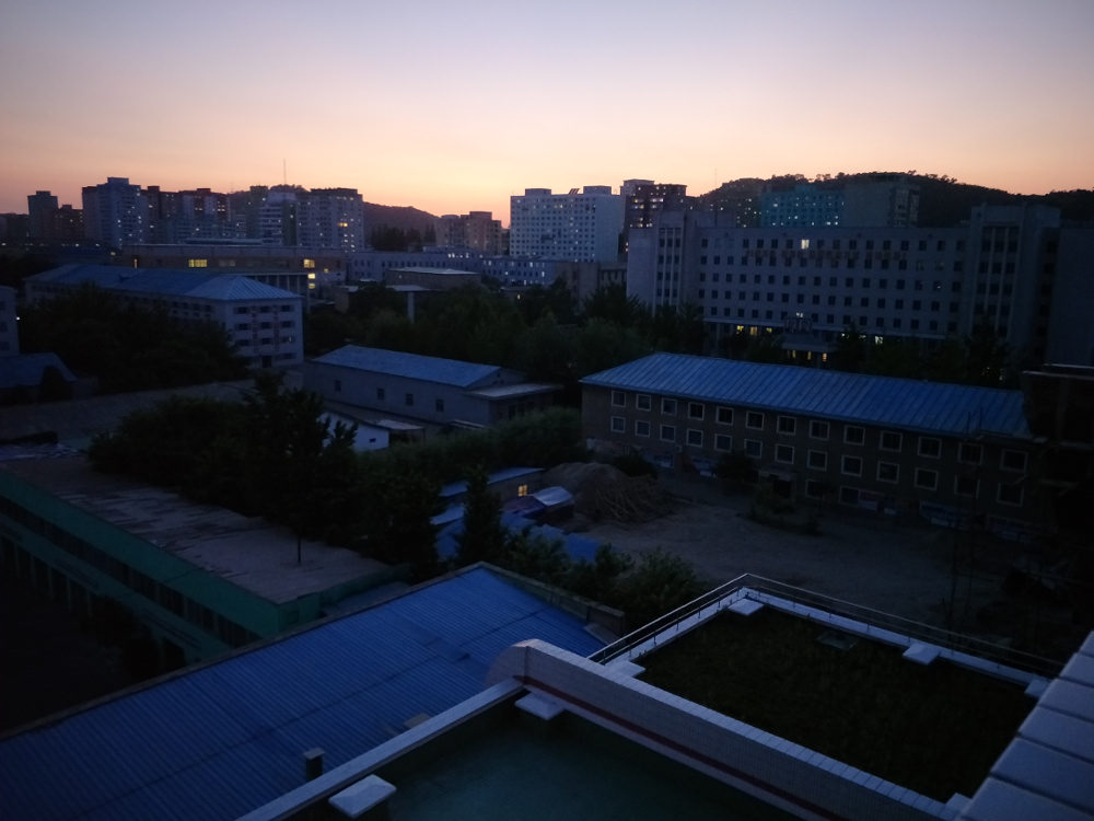 Kim Il Sung University Foreign Student Dormitory View 06