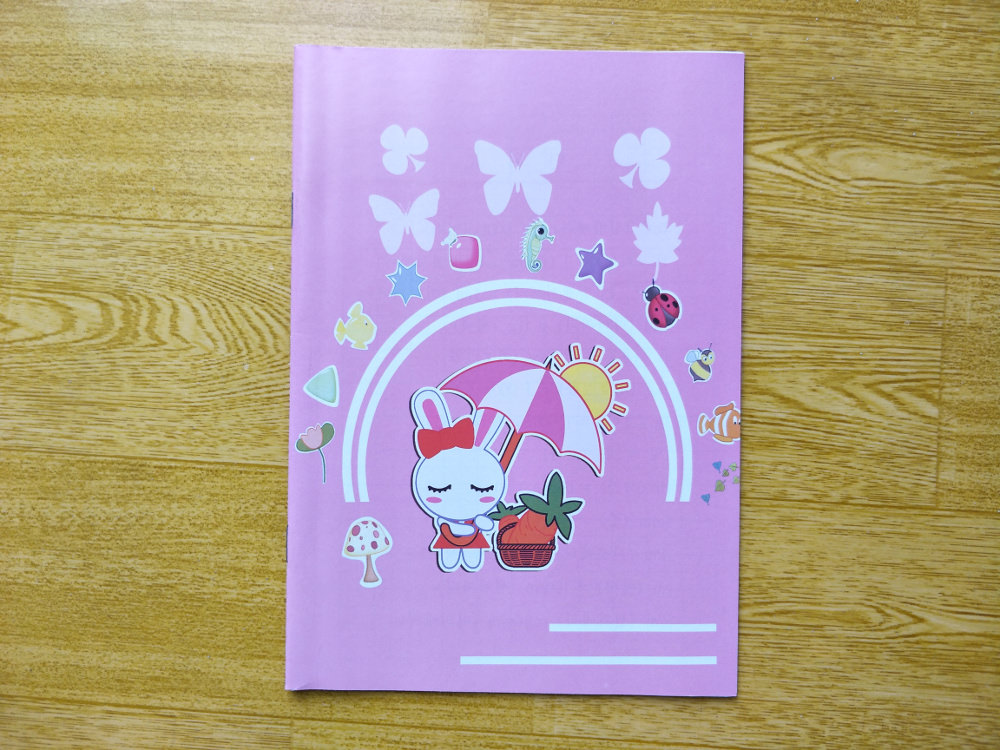 Mindulle Elementary School Notebook for Girls