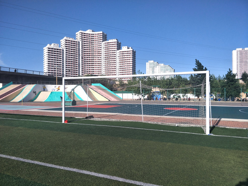 Tongil Street Exercise Centre Soccer Pitch 04