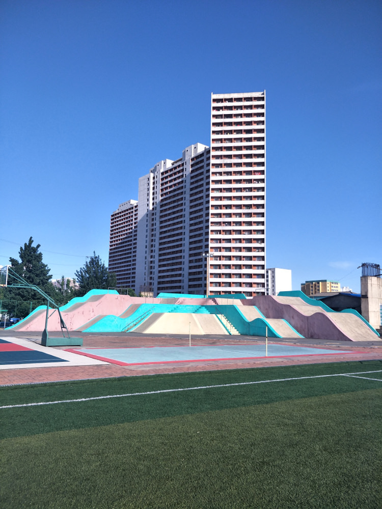 Tongil Street Exercise Centre Soccer Pitch 05
