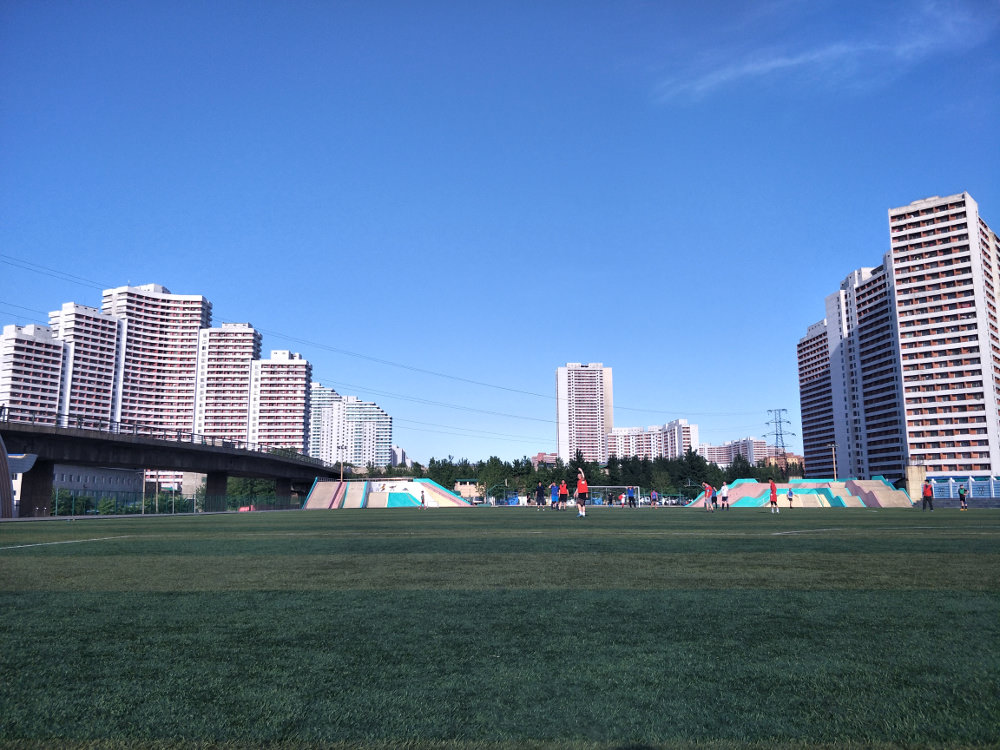 Tongil Street Exercise Centre Soccer Pitch 06