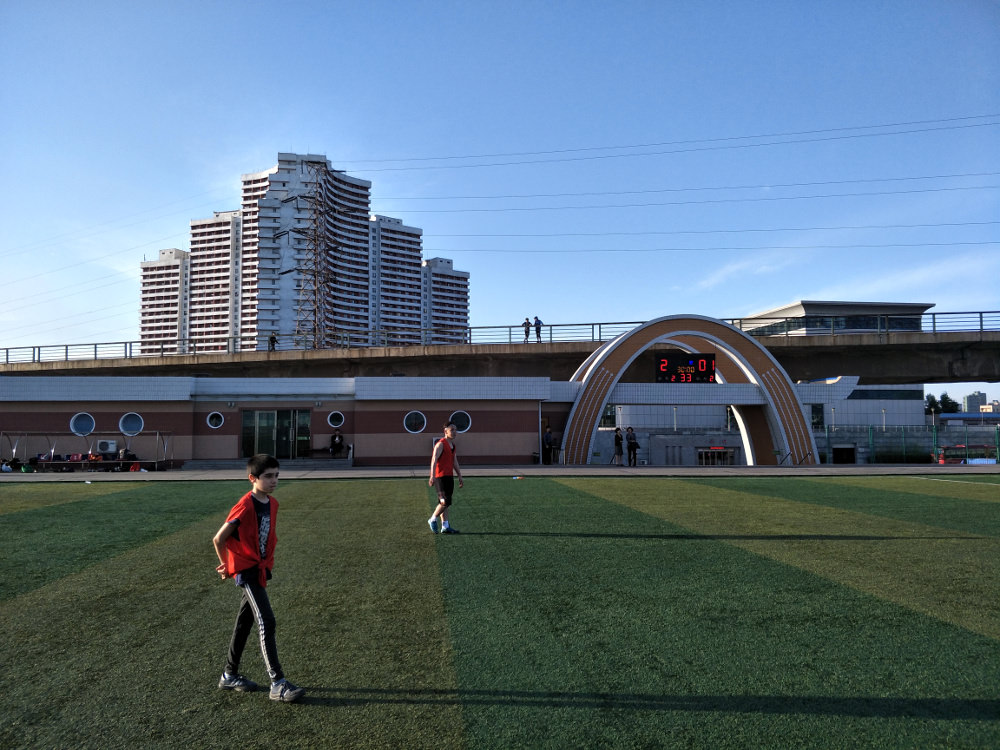 Tongil Street Exercise Centre Soccer Pitch 07