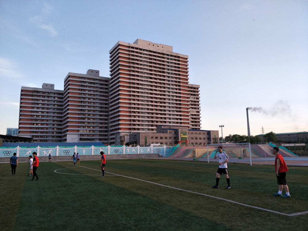 Tongil Street Exercise Centre Soccer Pitch 10